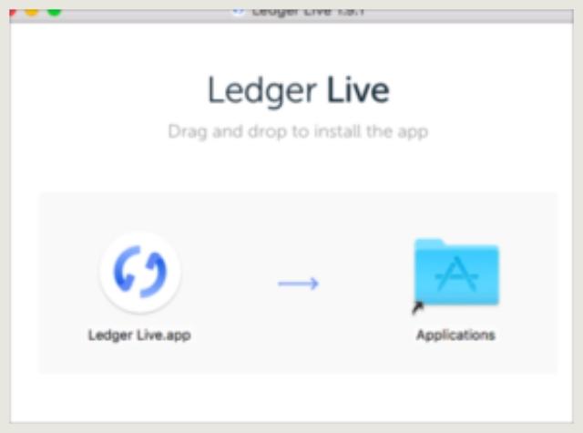 Ledger Live インストール